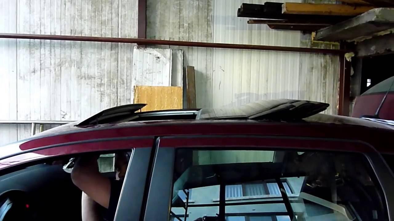 A Class W169 B Class W245 Sliding Roof Repair Youtube