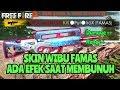 SKIN DENGAN EFEK KHUSUS SAAT MEMBUNUH!! REVIEW TEENAGE DREAM FAMAS SKIN - FREE FIRE INDONESIA