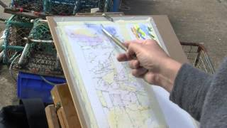 Robert Brindley Atmospheric Coastal Watercolour  Landscapes trailer