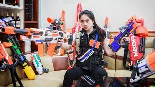 LTT Nerf War : SEAL X Nerf Guns Battle criminal group special task Nerf War
