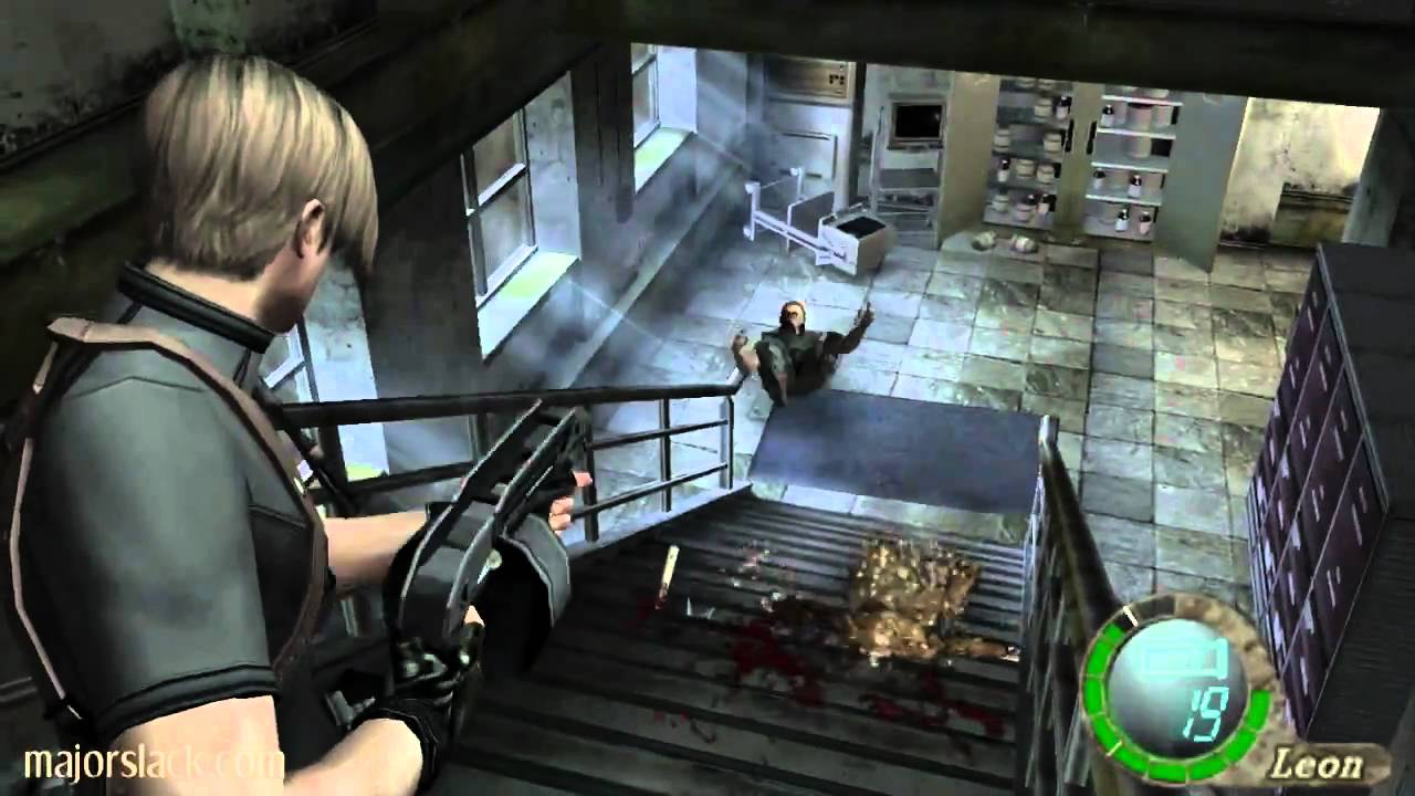 how to get key from statue room resident evil