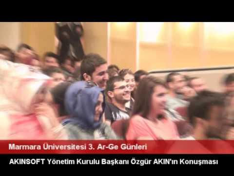 Marmara Üniversitesi Özgür AKIN ile Söyleşi