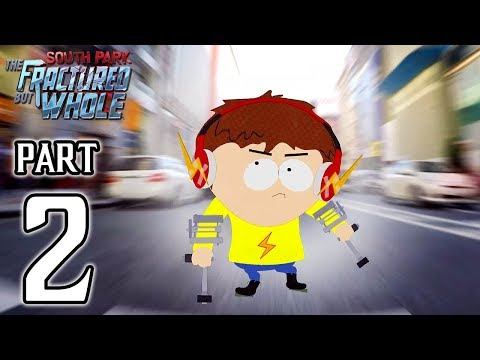 South Park The Fractured but Whole Walkthrough PART 2 (PS4) No Commentary Gameplay @ 1080p HD ✔