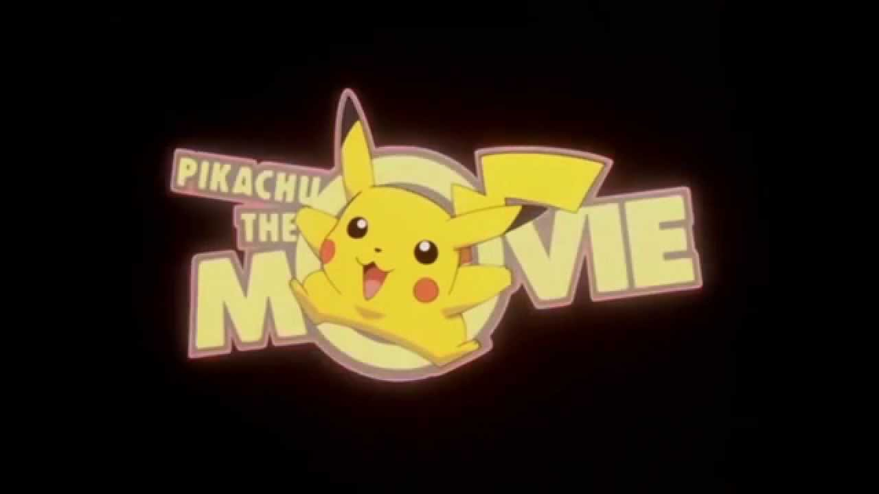 pikachu the movie logo 1999 minus music youtube