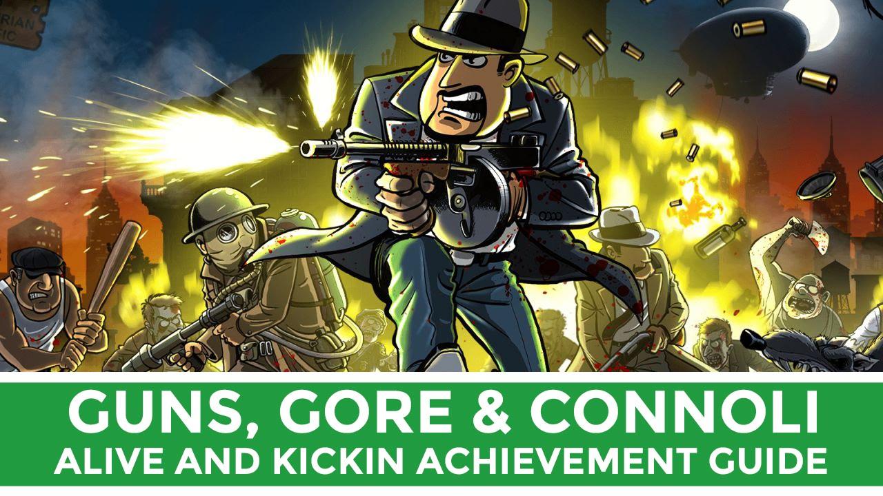 guns gore connoli alive and kickin achievement guide youtube. Black Bedroom Furniture Sets. Home Design Ideas