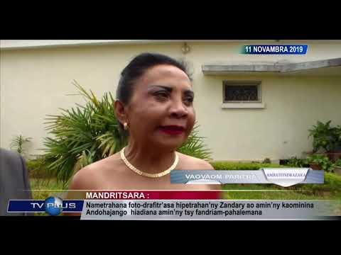 VAOVAOM   PARIITRA DU 11 NOVEMBRE 2019 BY TV PLUS MADAGASCAR
