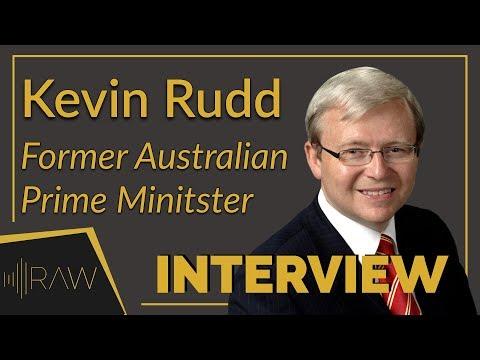 Kevin Rudd - Former Austrailian Prime Minister   RAW Interviews