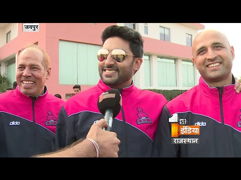 Watch: Abhishek Bachchan's exclusive interview on his visit to Jaipur to meet Pink Panthers