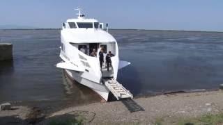 Речной флот края пополнился новым быстроходным судном