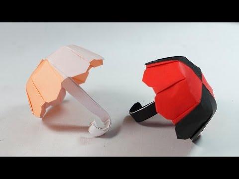 Paper Umbrella - Origami Umbrella Tutorial (no cut, no glue) (Henry Phạm)