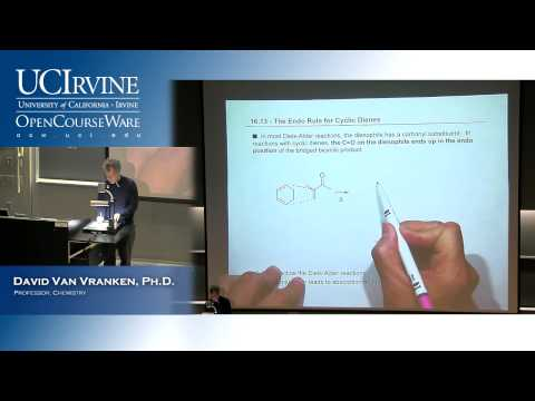 Organic Chemistry 51B. Lecture 22. Conjugation, Resonance, Diels-Alder Reactions, Part 2.