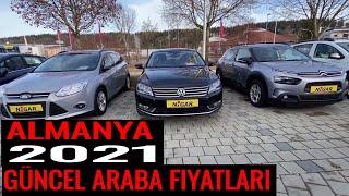 2021 Almanya 2. El Araba Fiyatlari I Bmw Mercedes Ford Honda Audi Vw