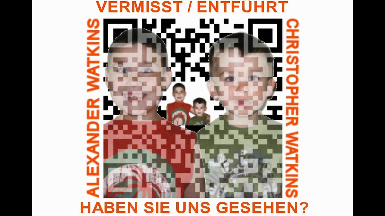 QR-CODES auf Vermisste Kinder Poster zu helfen, finden Vermisste ...