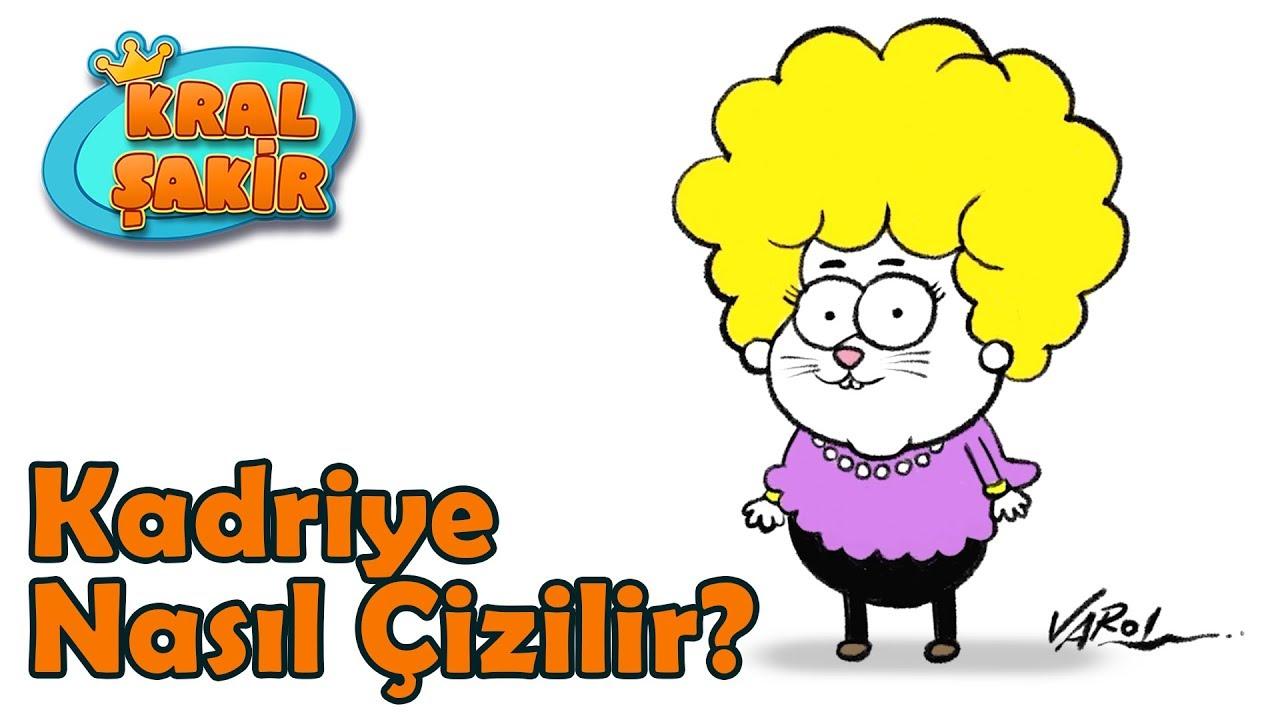 Kadriye Nasil Cizilir Kral Sakir Youtube