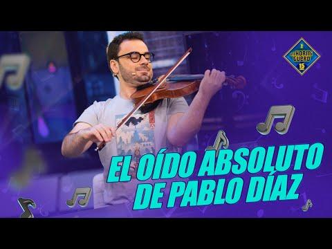 ¡ESPECTACULAR! El oído absoluto de Pablo Díaz - El Hormiguero