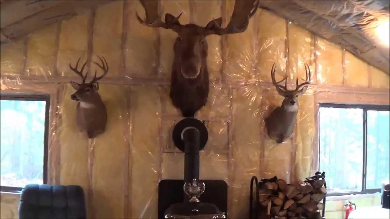 The Backwoods Cabin Episode 10 Kitchen Stove Installed