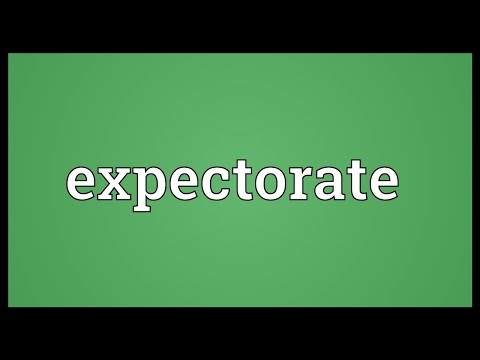 Header of expectorate