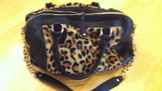 Spoiled Pretty: Audrey Brooke Leopard Satchel from DSW Thumbnail