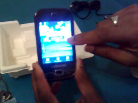 Samsung GT-B5722 Dual Sim Mobile Part 1 (Tutorial)