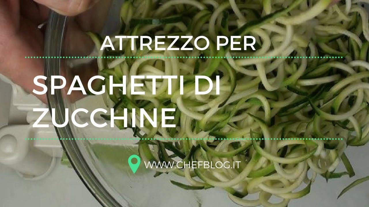 Attrezzo per fare gli spaghetti di zucchine come si for Attrezzo per pulire le persiane