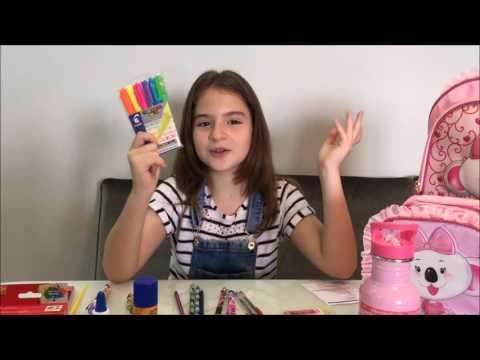 O Mundo da Sophia Valverde - Material Escolar 2017 - Amo Estudar!!!