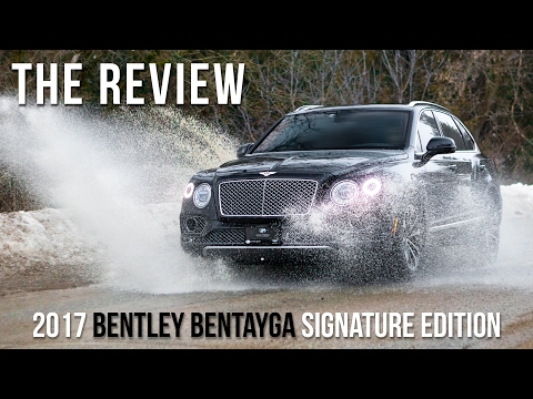 2017 Bentley Bentayga Signature Edition Full Review, Drive, & Self Park