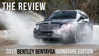 2017 Bentley Bentayga Signature Edition Full Review, Drive, & Self Park