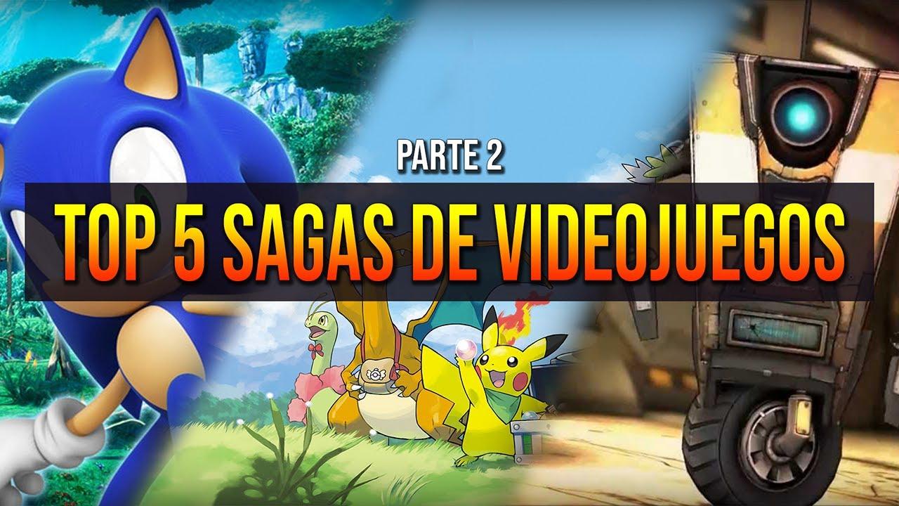 TOP 5 SAGAS FAVORITAS DE LOS VIDEOJUEGOS (Parte 2) - Mr Skips