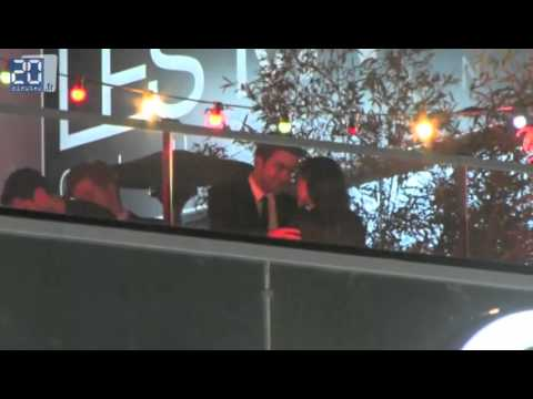 Robert Pattinson And Kristen Stewart Kissing And Cludding At On The Road Afterparty