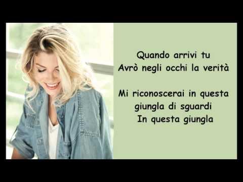 Emma Marrone   Arriverà l'amore   Testo Lyrics