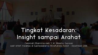 Video Ceramah Dhamma | Tingkat Kesadaran - Insight, Sotapanna, Arahat: Y.M. Bhikkhu Gunasiri download MP3, 3GP, MP4, WEBM, AVI, FLV November 2017