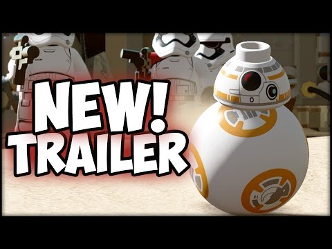 Lego Star Wars the Force Awakens Trailer & Discussion! New Lego Game!