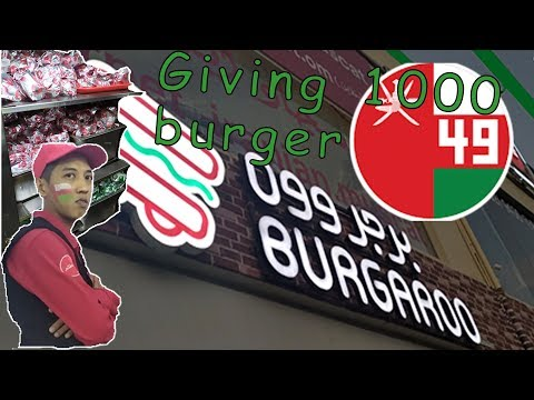 GIving 1000 Burger!!!! On National Day