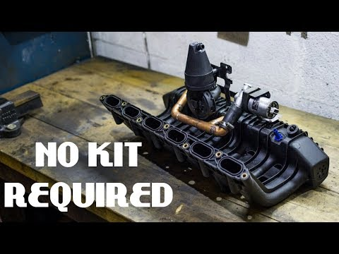 E36 M50 Manifold Conversion £30 DIY Pipework Setup