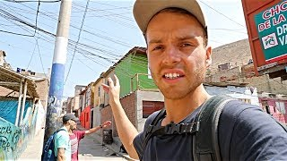 WALKING DANGEROUS STREETS of LIMA, PERU 🇵🇪