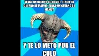 TENGO UN CUERNO DE MAMUT Y TE LO METO POR EL CULO ...