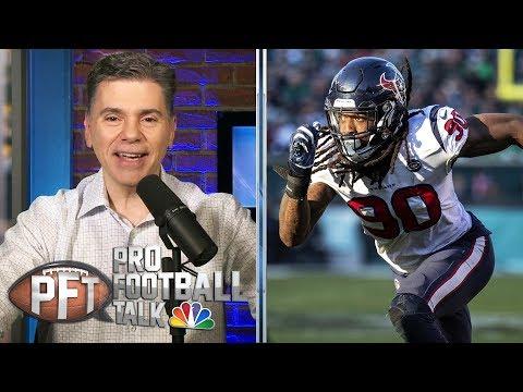 Texans shakeup roster with Jadeveon Clowney, Laremy Tunsil deals | Pro Football Talk | NBC Sports
