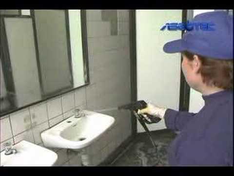 Prueba de limpieza suciedad incrustada en azulejos doovi - Blanquear juntas azulejos bano ...