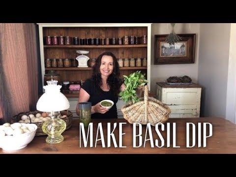 Basil Dip Recipe