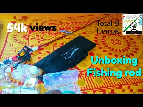 Fishing  Rod  Unboxing Indian Cheep Price Good Product