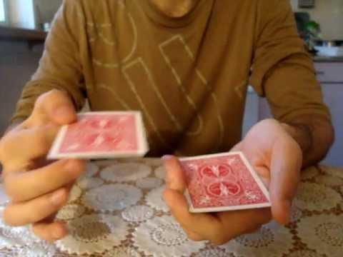 Манипуляции с 3 картами - обучение