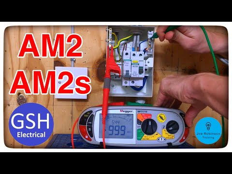 AM2 Or AM2s Insulation Resistance Testing Of 2 Way And Intermediate Switching Using Guidance Notes 3