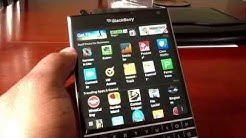 Blackberry Passport review (Apps & Games) part 4