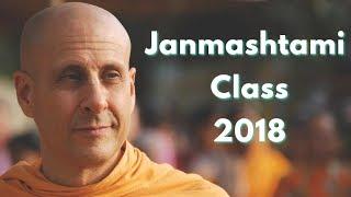 Janmashtami 2018   Radhanath Swami   Morning Class   ISKCON Chowpatty