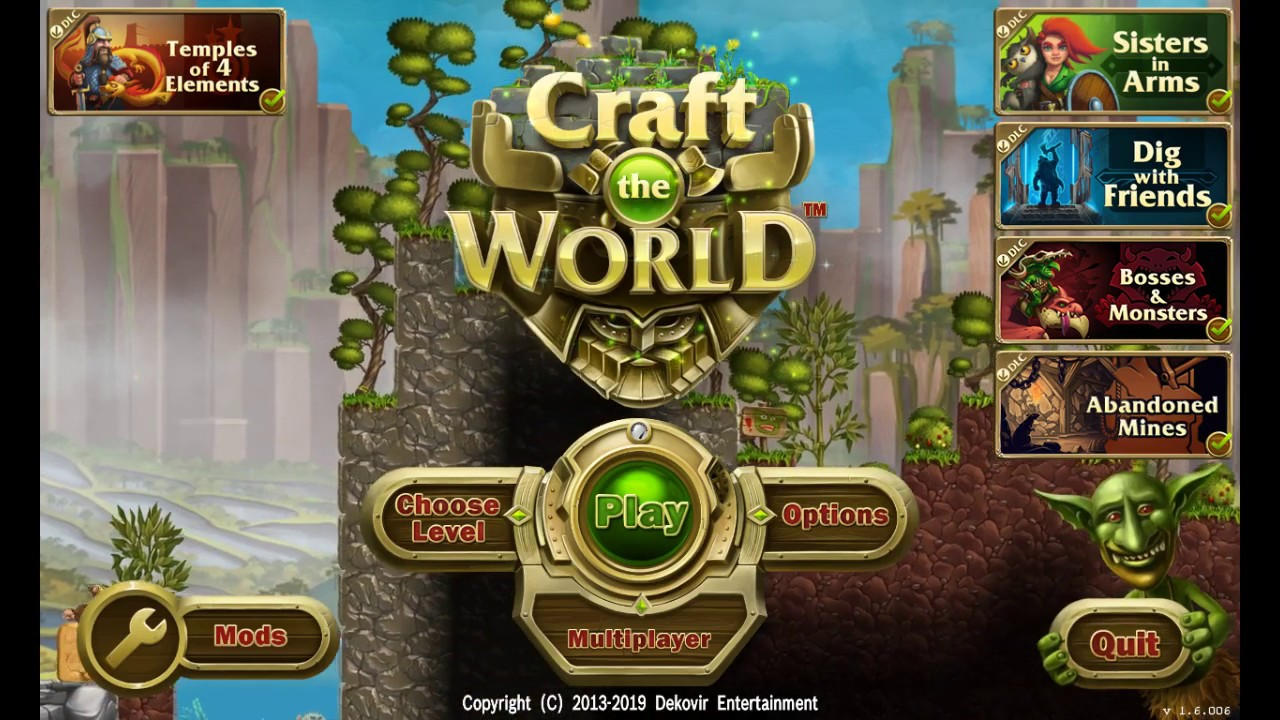 Craft The World - Temples Of 4 Elements
