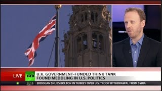 "BOMBSHELL: British meddling, ""smearing crap"" out of Americans"
