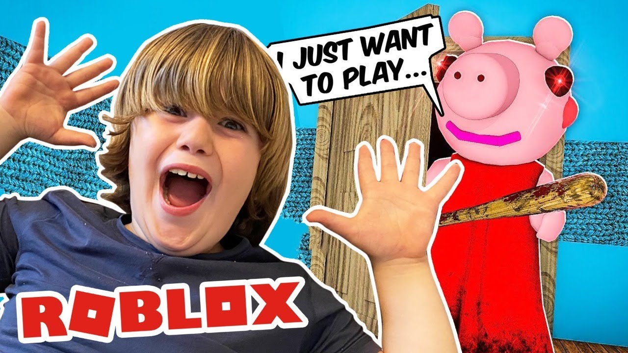 ROBLOX Piggy Alpha So Scary - Teach my Daddy G How to Play (Gerti's Prank) #1