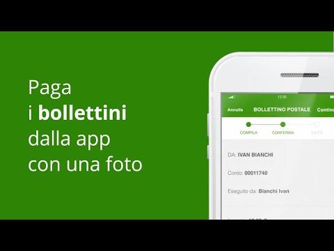 Paga I Bollettini Con Una Foto  - App Intesa Sanpaolo Mobile