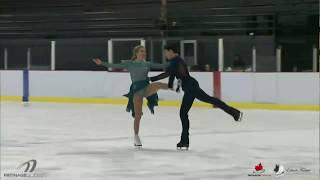 Marjorie LAJOIE / Zachary LAGHA FD - Quebec Summer Championships 2018
