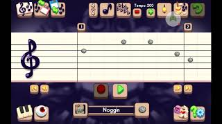 Music notes for upbeat island  ( Read Description )